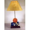 "Judith Edwards Designs Basketball 22"" H Table Lamp with Empire Shade"