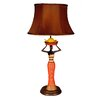 "Judith Edwards Designs Jamaican Lady with Bananas 27"" H Table Lamp with Bell Shade"