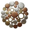 Stratton Home Decor Mixed Round Cluster Wall Décor