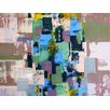 Art Excuse 'Dancing Squares' by AX Original Painting on Wrapped Canvas