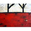 Art Excuse 'Country Road' by AX Original Painting on Wrapped Canvas