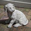 Campania International Lab Pup Statue