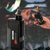Sintechno 3-in-1 Windproof e-Fire Lighter, Power Bank Phone Charger and LED Flashlight