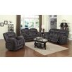 Sunset Trading Madison 3 Piece Reclining Living Room Set (Set of 3)