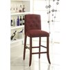 HomePop Tufted Parson Bar Stool