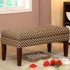 HomePop Decorative Storage Entryway Bench