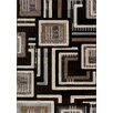 Central Oriental Providence Charcoal The Grid Area Rug