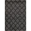 Central Oriental Tacoma Silver/Black Quadrant Two Tone Rug