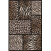 Central Oriental Tacoma Brown Tanzania Area Rug