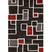 Central Oriental Medina Black/Red Ryder Rug