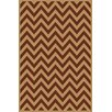 Central Oriental Terrace Sand/Clay Static Area Rug