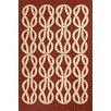 Jaipur Rugs Coastal Red/Ivory Indoor/Outdoor Area Rug