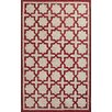 Jaipur Rugs Catalina Red/Taupe Moroccan Indoor/Outdoor Rug
