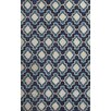 Jaipur Rugs Catalina Blue/Ivory Geometric Indoor/Outdoor Area Rug