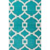 Jaipur Rugs City Green / Ivory Geometric Area Rug