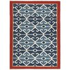 Jaipur Rugs Anatolia Smoke Blue/Red Tribal Rug