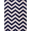 Jaipur Rugs Traverse Deep Navy Geometric Area Rug