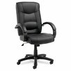 <strong>Strada Series High-Back Office Chair</strong> by Alera®