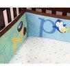 Baby's First by Nemcor Alphabet Nursery 4 Piece Versatile Bumper Set
