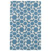 Kaleen Revolution Blue/White Area Rug