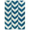 Kaleen Trends Blue & White Area Rug