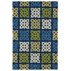 Kaleen Home and Porch Blue Indoor/Outdoor Area Rug