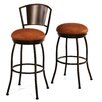 "<strong>Brazilia 30"" Swivel Bar Stool with Cushion</strong> by Tempo"