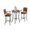 Tempo Madera 3 Piece Pub Table Set