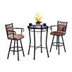 Tempo Winston 3 Piece Pub Table Set