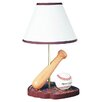 <strong>Cal Lighting</strong> Juvenile Baseball Table Lamp