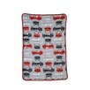 <strong>Fire Truck Printed Coral Fleece Blanket</strong> by Carter's®