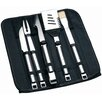 BergHOFF International Cubo 6 Piece Travel Wrap Grilling Tool Set
