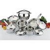 BergHOFF International Stainless Steel 12-Piece Cookware Set
