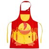 BergHOFF International Sheriff Duck 5 Piece Apron with Kitchen Utensils Set