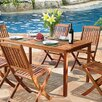 <strong>Balthazar 4 Piece Dining Set</strong> by Vifah