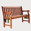 Vifah Malibu 2-Seater Wood Garden Bench