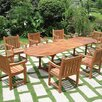<strong>Vista 9 Piece Dining Set</strong> by Vifah