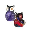 <strong>Dale Tiffany</strong> 2-Piece Owl Figurine