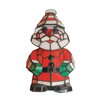 <strong>Happy Santa Accent Table Lamp</strong> by Dale Tiffany