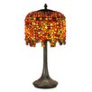 "<strong>Pebblestone Wisteria  22.5"" Table Lamp</strong> by Dale Tiffany"