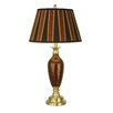 """Dale Tiffany 29"""" H Table Lamp with Drum Shade"""