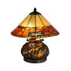 "Dale Tiffany Genoa 16.75"" H Table Lamp with Empire Shade"