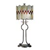 "<strong>Lifestyles Haskey 31"" H Table Lamp with Drum Shade</strong> by Dale Tiffany"
