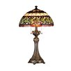 "Dale Tiffany Victorianna Aldridge 26"" H Table Lamp with Bowl Shade"