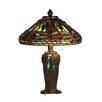 "<strong>Dale Tiffany</strong> Dragonfly Jewel Tiffany 13.5"" H Table Lamp with Empire Shade"