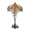 "Dale Tiffany Boehme Antiques Roadshow Series Tiffany 28"" H Table Lamp with Bowl Shade"