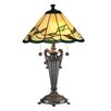 "Dale Tiffany Lifestyles Falhouse 26"" H Table Lamp with Empire Shade"