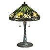 "Dale Tiffany Daffodil 23"" Table Lamp with Empire Shade"