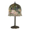 "Dale Tiffany Flowering Lotus 29"" H Table Lamp with Bowl Shade"
