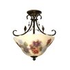 Dale Tiffany Light Semi Flush Mount